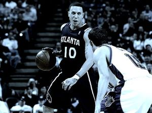 Mike Bibby had his defining game as a Hawk Tuesday vs. Chicago